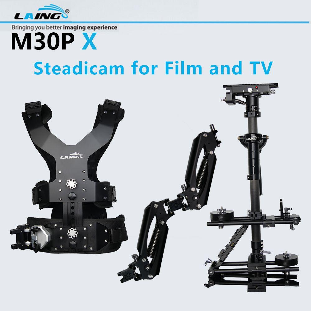 LAING M30P X Professionelle Kamera Steadicam Stabilisator Kit Für Nikon Canon DSLR Kameras Film TV Video Film Weste + Stabilisator + Arm