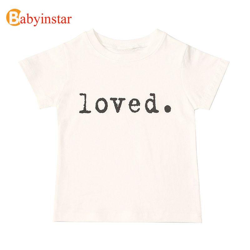 Babyinstar enfants t-shirts pour filles Costume joyeux anniversaire filles hauts enfants vêtements garçon t-shirt marque Thanksgiving chemise fille