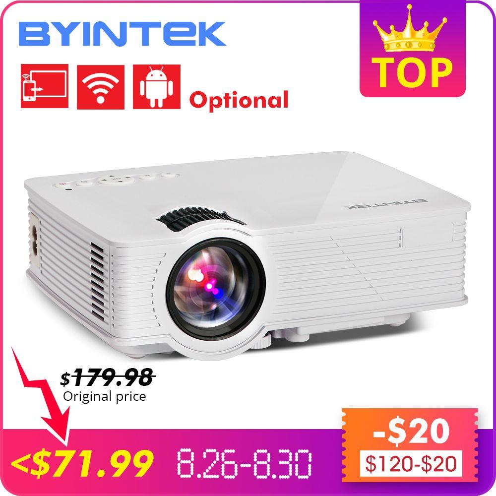 Projecteur vidéo Portable BYINTEK SKY BT140 Mini LED pour Home cinéma