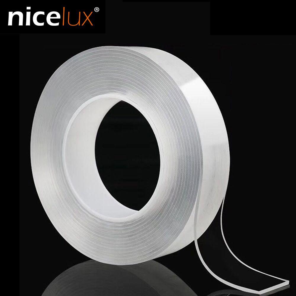 Nano Double face bande recycler utiliser adhésif fort imperméable à l'eau Transparent Super Fix Gel Grip bande amélioration de la maison