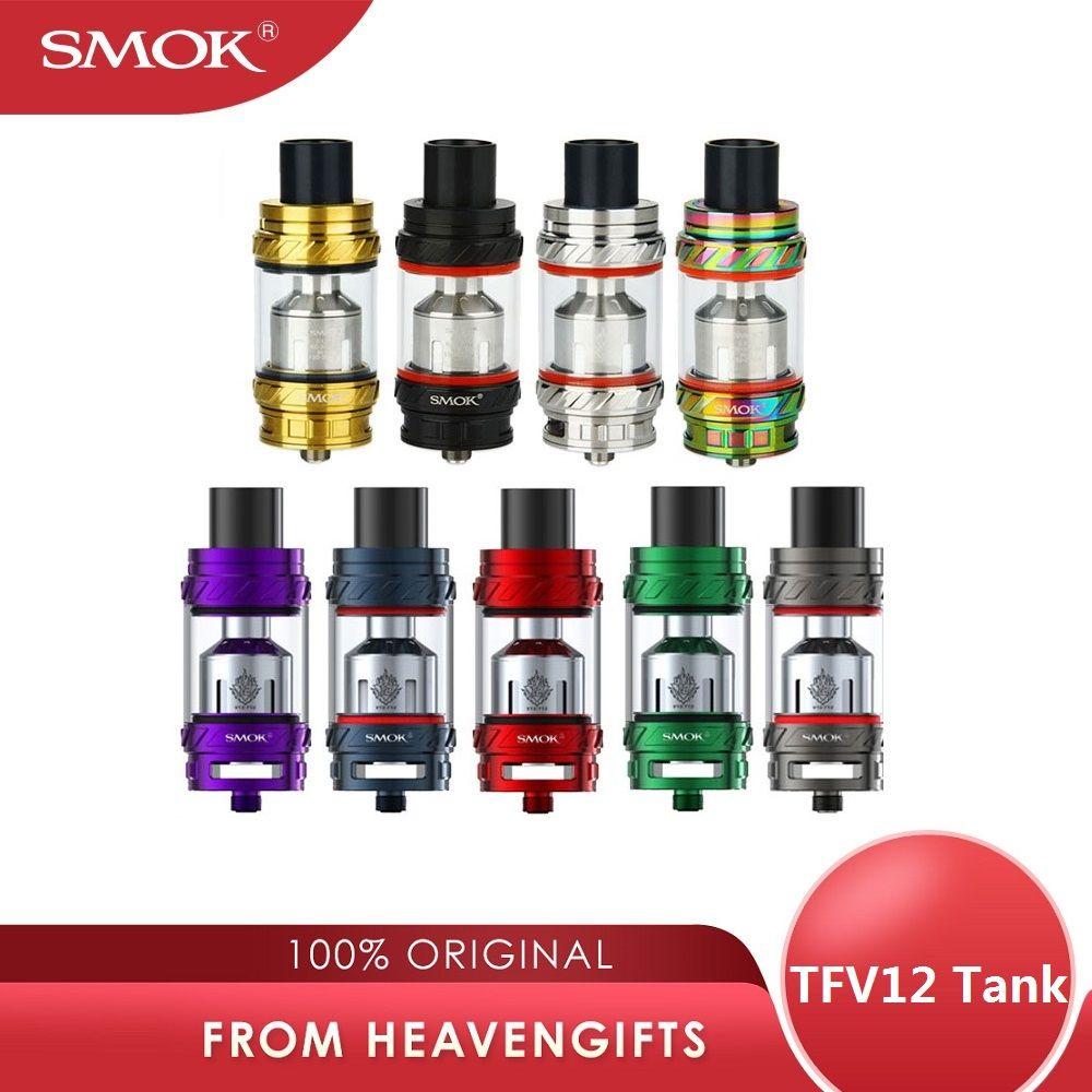 100% réservoir d'origine SMOK TFV12 Type A/Type B Version étanche 6ml Sub Ohm réservoir pour Smok GX350/g-priv vs TFV12 Prince atomiseur
