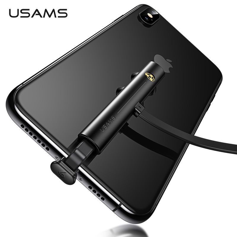 USAMS Type C câble 5V-2A charge rapide USB C câble jeu USB fil 180 degrés charge rapide données pour iPhone Samsung S9 S8