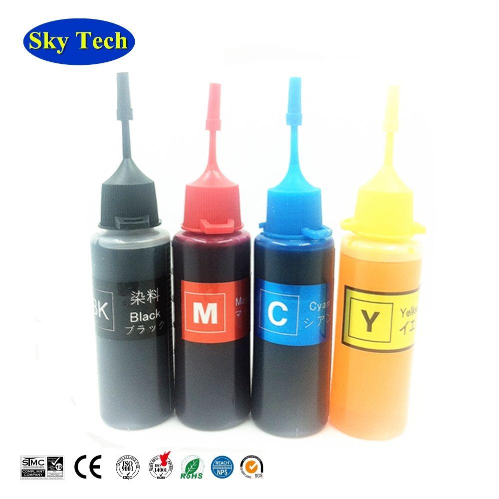 Encre de recharge universelle de haute qualité, 4 couleurs, combinaison pour imprimante Eposn Canon HP Brother. Livraison gratuite