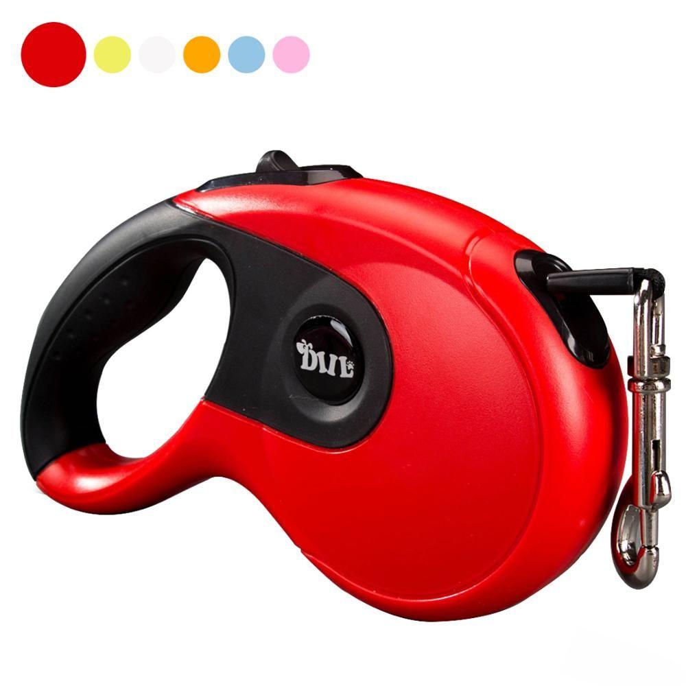 3M 5M 40KG chien rétractable laisse Flexible automatique extensible marche corde Traction pour petit chien moyen 10 couleurs
