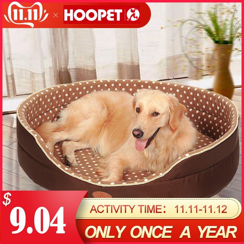 Double face disponibles toutes les saisons Grande Taille extra large chien lit maison canapé Chenil Doux Molleton Pet Chien Chat Lit Chaud s-xl