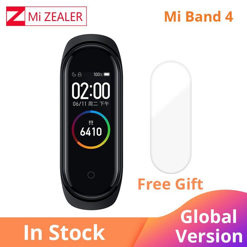 2019 Global Version Xiaomi Mi Band 4 Multi language Wristband fitness Bracelet 135mAh Bluetooth 5.0 Smartwatch