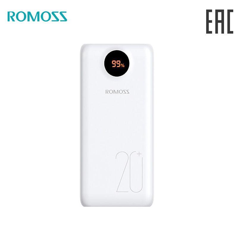 Externe Batterie ROMOSS SW20PS + 20000 mAh lesen ebene bank mit anzeige [lieferung aus Russland]