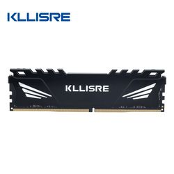 Kllisre DDR3 DDR4 4GB 8GB 16GB memoria ram 1333 1600 1866 2133 2400 2666 3000 Memory Desktop Dimm with Heat Sink