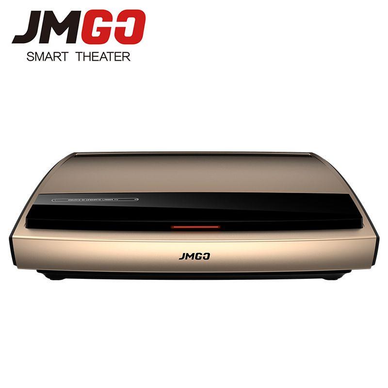 JMGO 4K Laser Projektor S3, 3840x2160 dpi, 3000 ANSI Lumen. 300 zoll Riesige Bildschirm für Home Cinema. Video Beamer. WIFI/Bluetooth