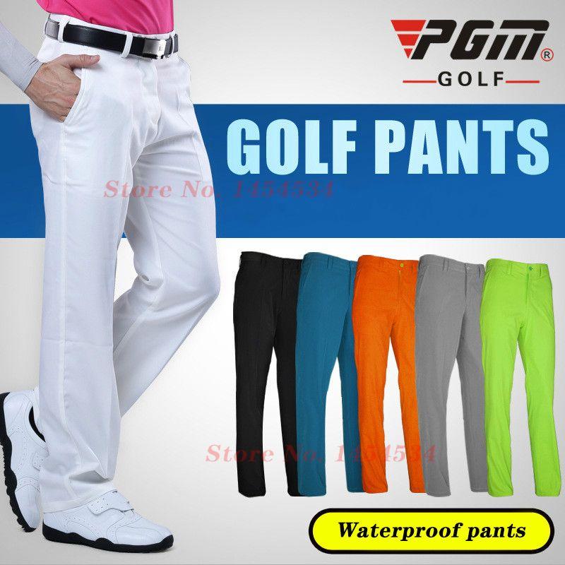 Envoyer Chaussettes! Ultra-mince hommes Slim Long pantalon imperméable vêtements sport Golf/Tennis pantalon mâle XXS-XXXL été sec pantalon