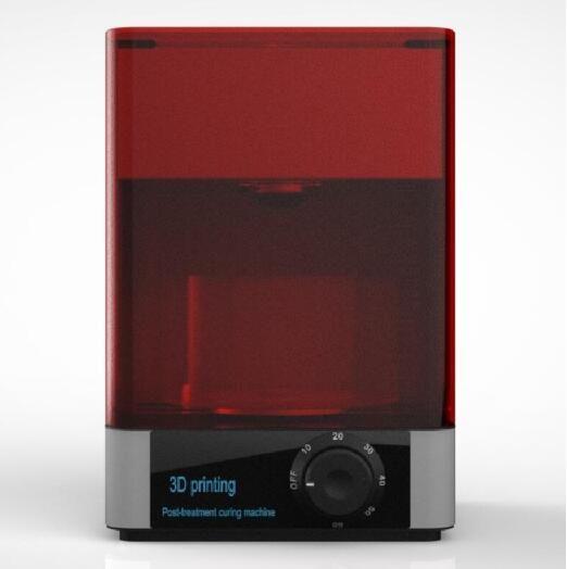 2019 3D drucker UV härtende maschine 400-405nm wellenlänge uv-härtung box für DLP/LCD/SLA harz 3D drucker schmuck/Zahnmedizin