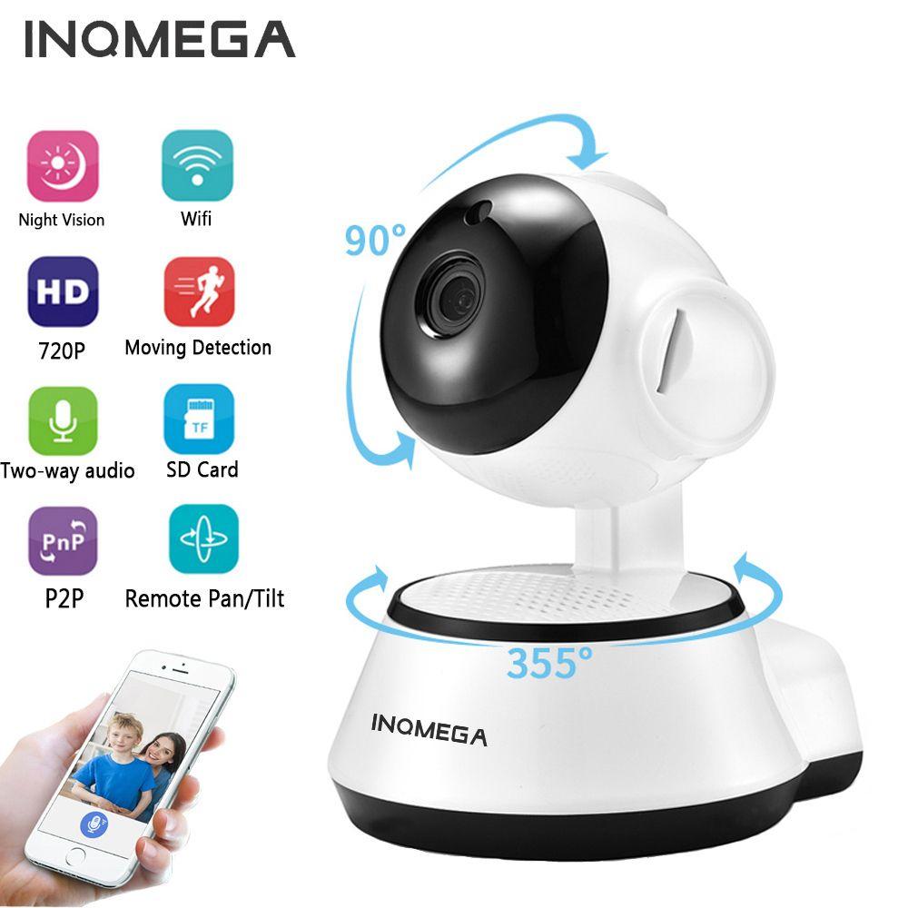 Caméra INQMEGA IP sans fil 720P Surveillance de sécurité à domicile caméra réseau CCTV Vision nocturne deux voies Audio moniteur bébé ICSEE