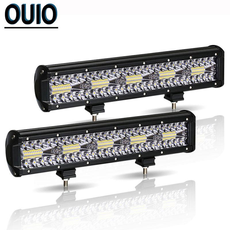 300W 12 Inch LED Licht Bar Automobil Offroad Auto Nebel Lampe 12V Combo Strahl Scheinwerfer Arbeit Licht für SUV ATV Anhänger Lkw Traktor
