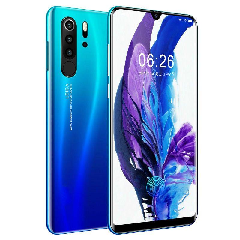 Smartphone Android 4G P30 pro Handys Europäischen Asiatischen 6,3 Zoll Dual Sim Handy Entsperrt Wasser Tropfen Bildschirm