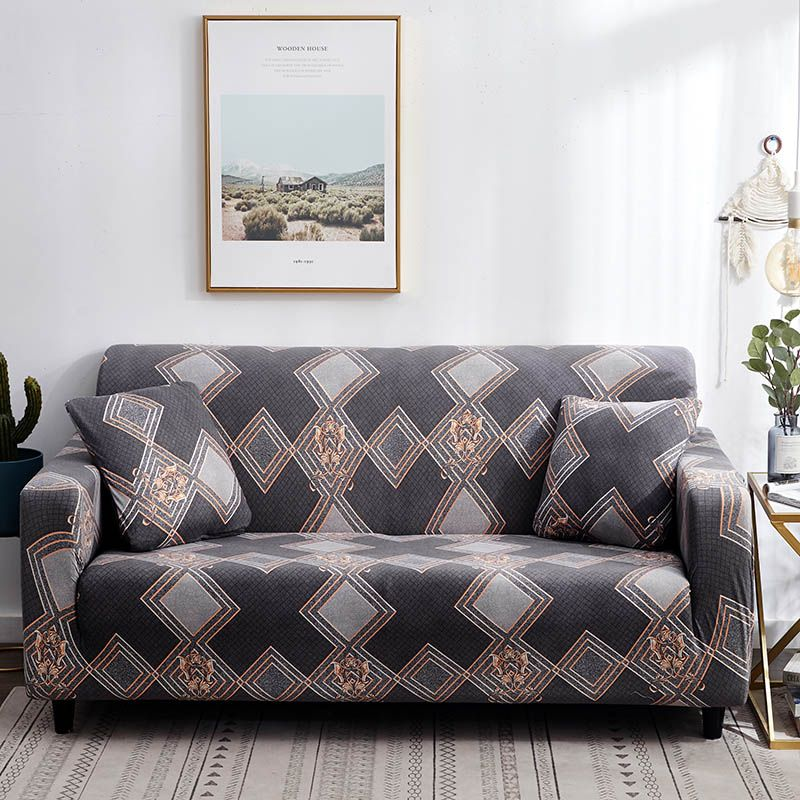 Sofa Cover Cotton Floral Printing Sofa Towel Slipcover Sofa Covers for Living Room Couch Cover funda sofa Protect Furniture