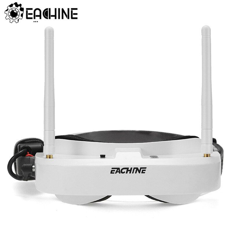 Eachine EV100 720*540 5.8G 72CH FPV Goggles With Dual Antennas Fan 7.4V 1000mAh Battery