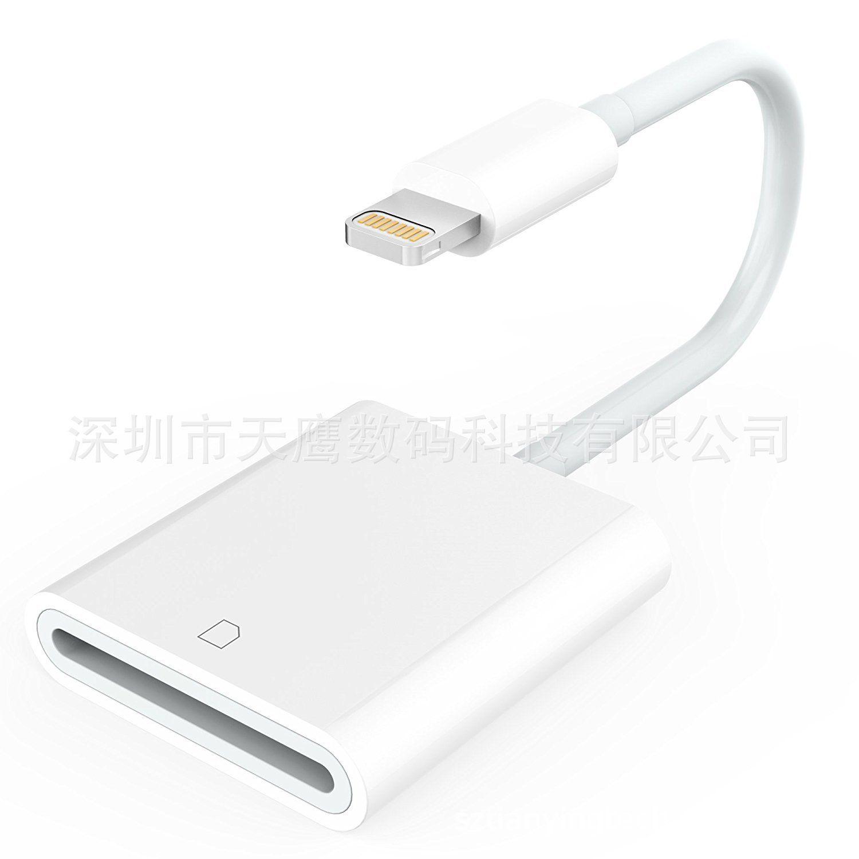 Kreuz Grenze Anwendbar iPhone 7 IPhone8 X iPad Blitz zu SD Kartenleser Unterstützung IOS12