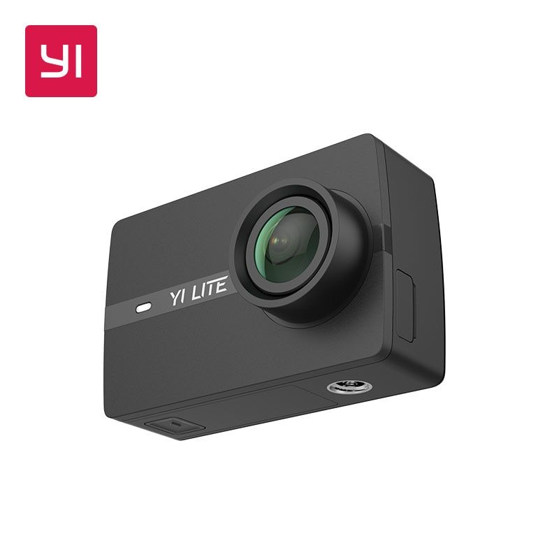 【Expédier en dec】 yi 4K Action sport caméra 4 K/30fps vidéo 12MP Image brute EIS contrôle vocal Ambarella A9SE puce 2.19 ''écran tactile