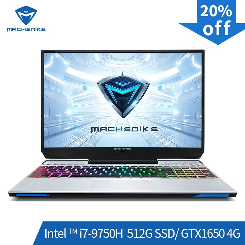 Machenike F117-VB1 Gaming Laptop (Intel Core i7-9750H + GTX 1650/8GB RAM/512G SSD/ 15,6 ''72% NTSC) игровой ноутбук notebook ноутбук