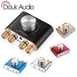 Douk audio Hi-Fi Bluetooth 5.0 Digital Amplifier Stereo 2.0 Ch Mini TPA3116 High-power Amp Wireless Audio Receiver DC12V