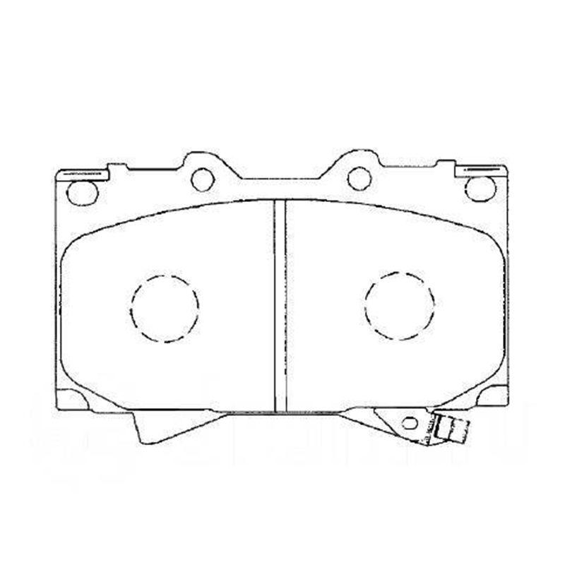 AKEBONO pads bremsscheibe vorne für TOYOTA LAND CRUISER 100, LEXUS LX470 AN-498WK