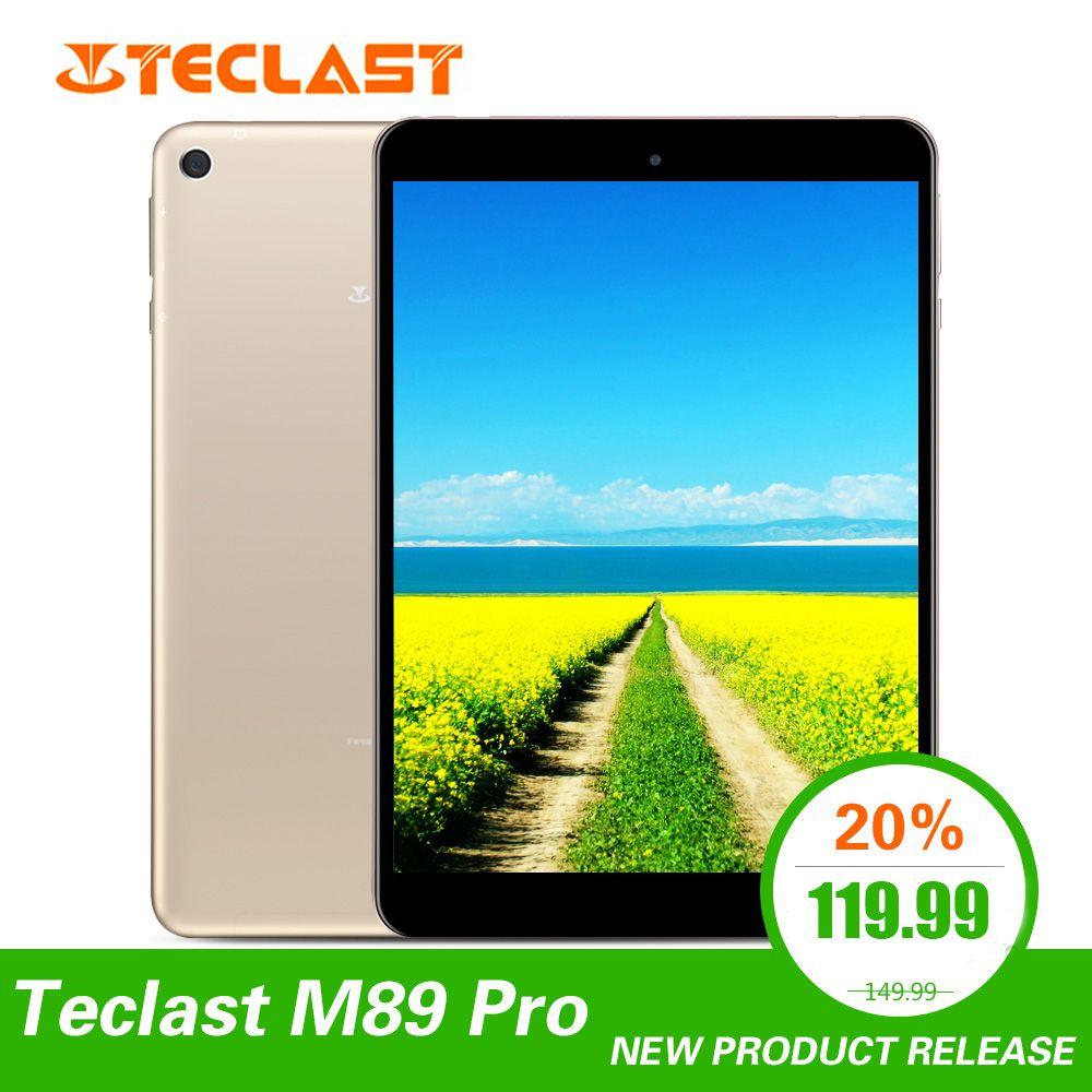 Teclast M89 Pro 7,9 zoll 3GB RAM 32GB ROM IPS X27 Deca Core 5.0MP 2048 × 1536 Typ -C 2,4G + 5G Dual-band WiFi Metall Dünne Tablet PC