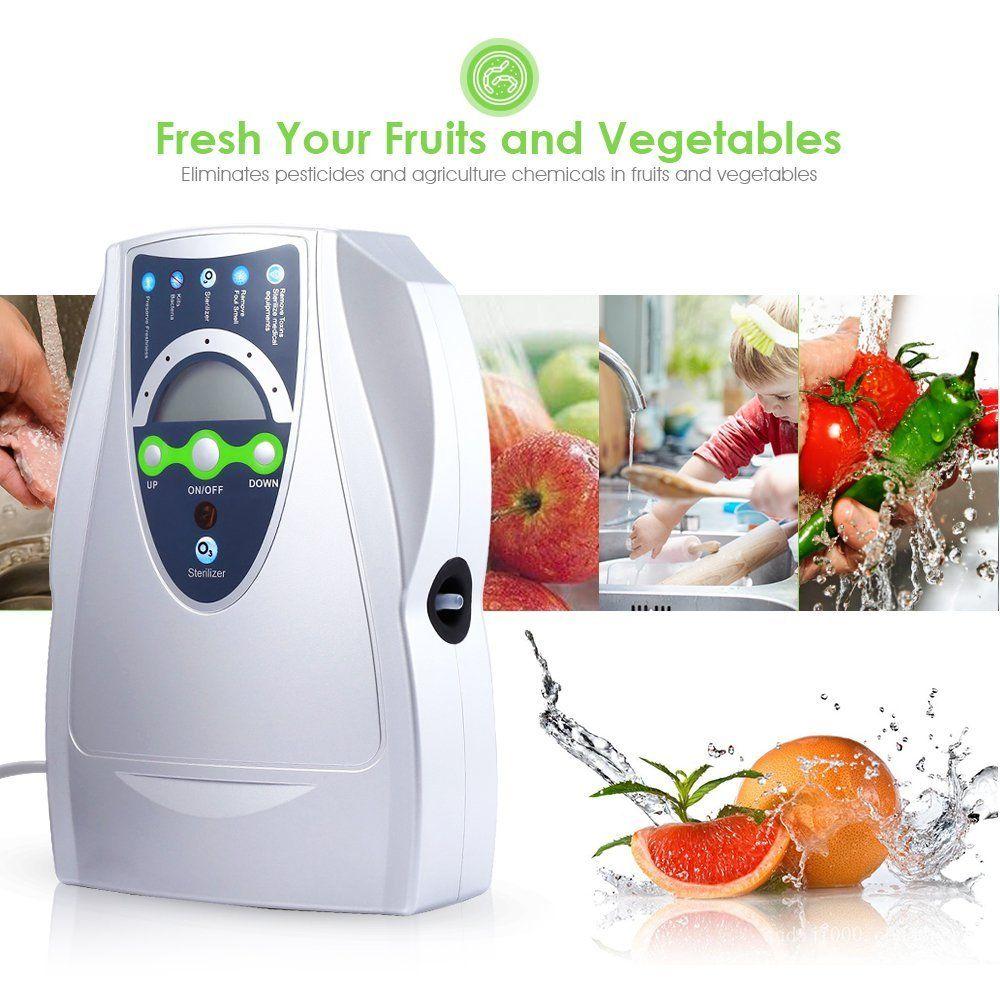 Tragbare Ozon Generator 500mg Sauerstoff Maschine Ozonisator Luft Wasser Luftreiniger Gemüse Washer Ozonator Desinfektor