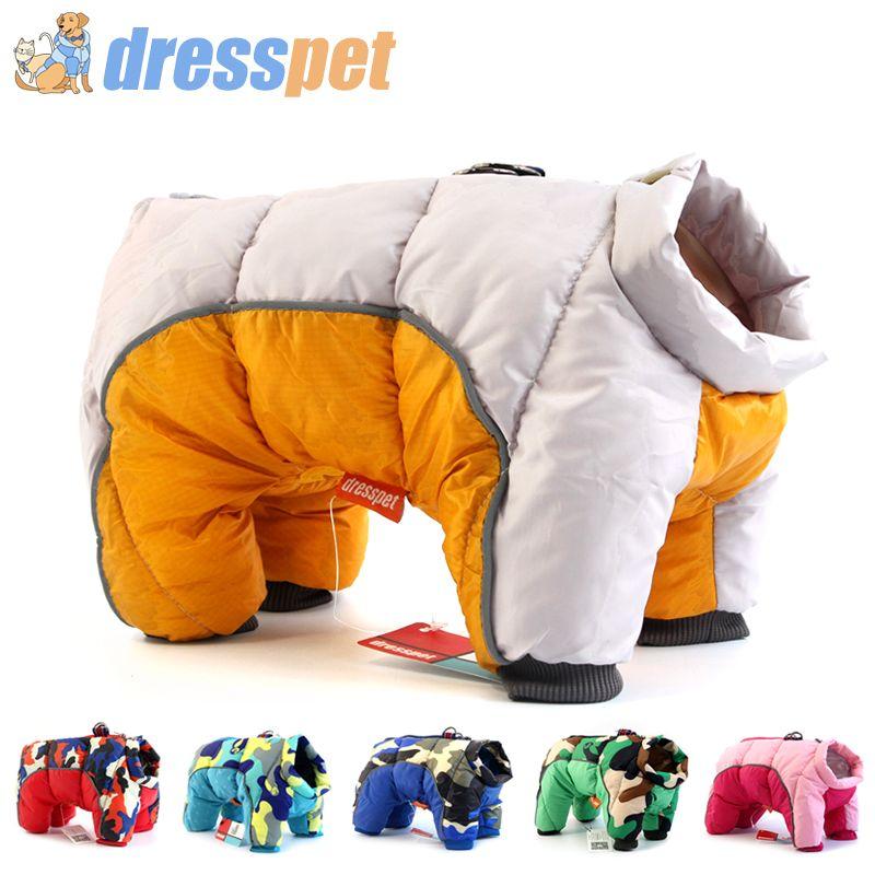 2019 hiver Pet chien vêtements Super chaud veste plus épais coton manteau imperméable petits chiens animaux vêtements pour français Bulldog chiot
