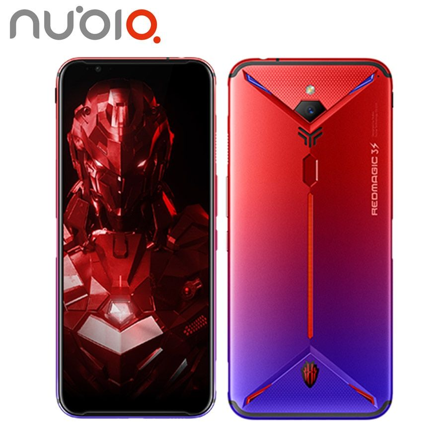 EU Version ZTE Nubia Rot Magie 3s Gaming Handy 48MP 8GB 128 GB/256 GB Snapdragon855 + 6,65