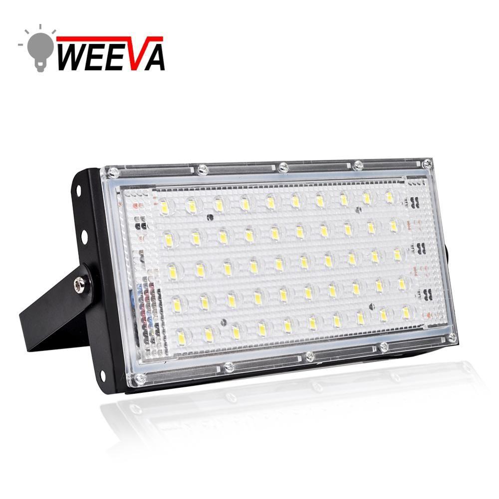 Led Floodlight 50W Waterproof IP65 Outdoor LED Reflector Light Garden Lamp AC 220V 240V Spotlight Street Lighting