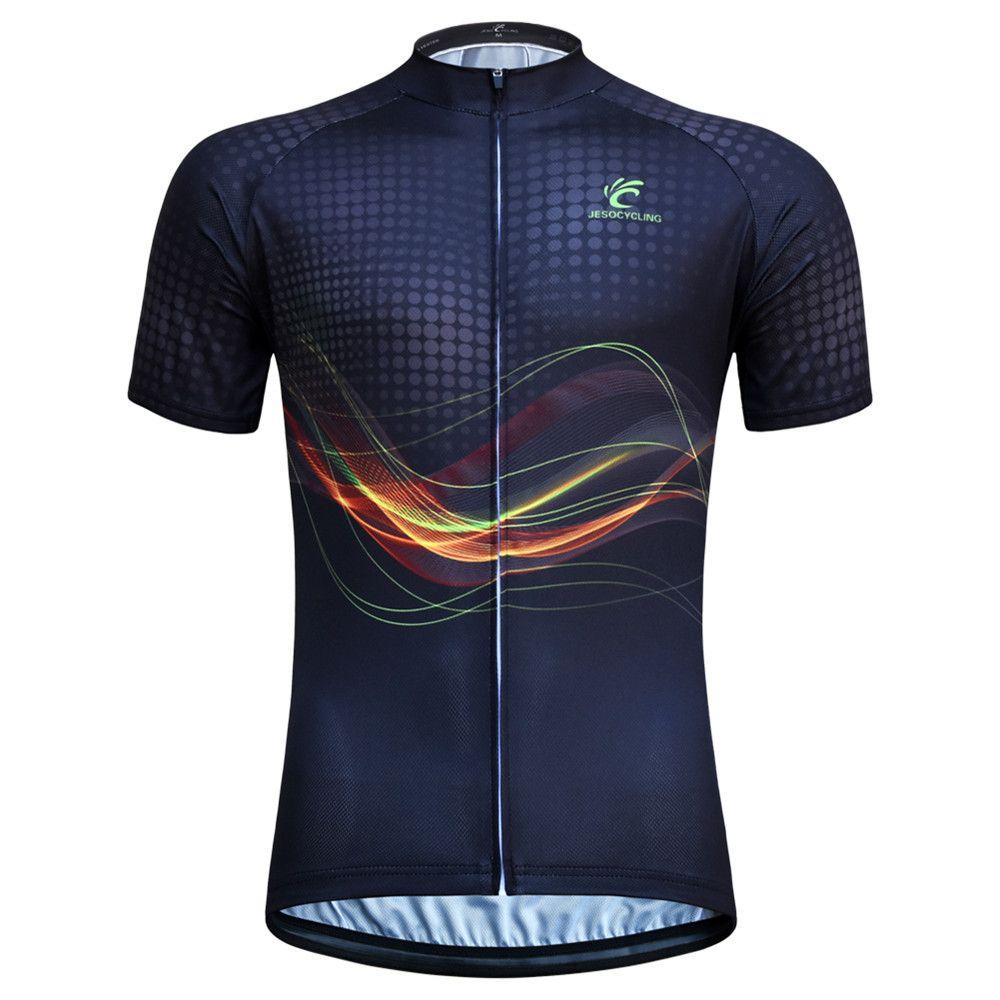 Maillot de cyclisme hommes vtt vélo maillot à manches courtes respirant usine directement vente vêtements de vélo camisa ciclismo