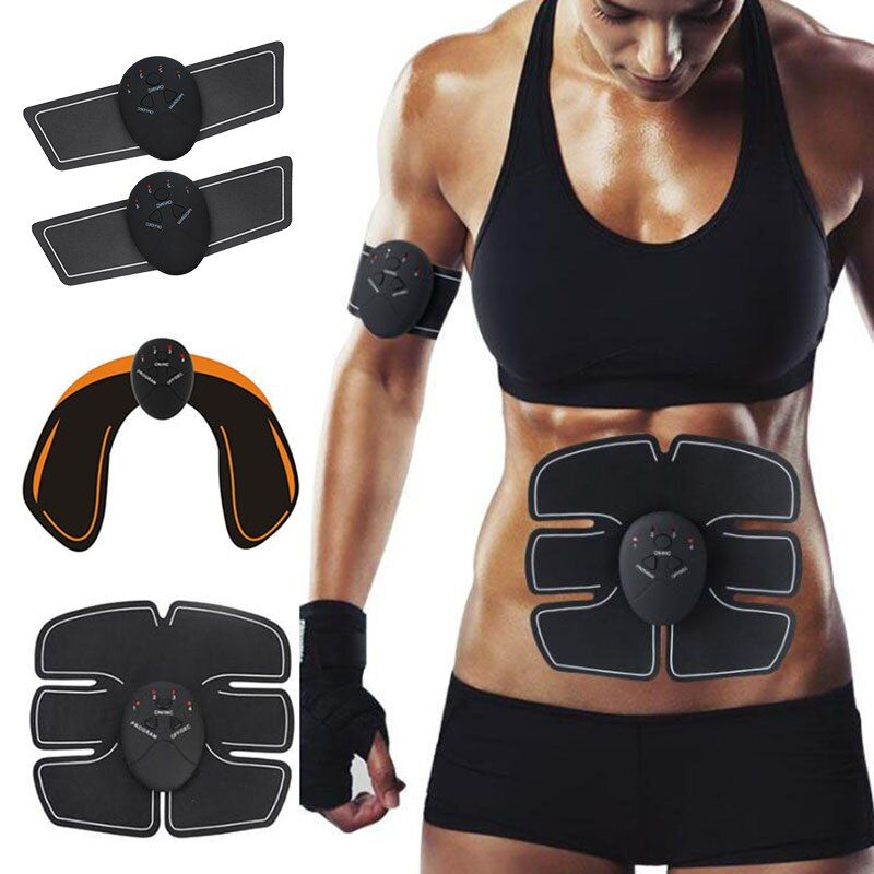 EMS Hip Trainer Muscle Stimulator ABS Fitness Lifting Buttock Abdominal Trainer Fitness Weight loss Body Slimming Massage