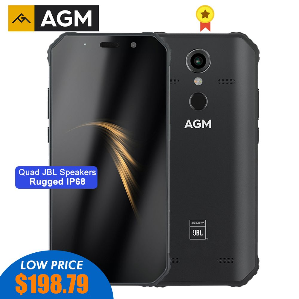 AGM A9 Robuste Smartphone 5,99