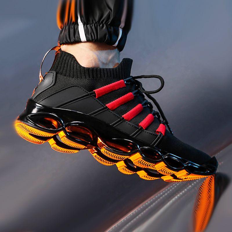 Nouvelle lame chaussures mode respirant Sneaker chaussures de course 46 grande taille confortable sport chaussures pour hommes 47 Jogging chaussures décontractées 48