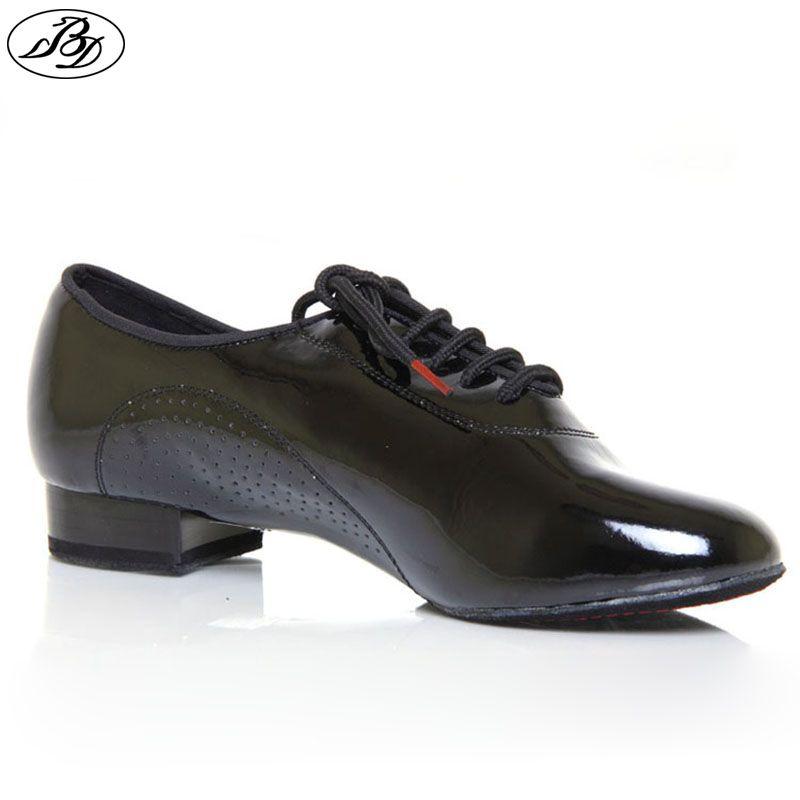 Hommes chaussures de danse Standard BD 309 brillant Split semelle chaussures de danse de salle de bal moderne danse Dancesport chaussure d'intérieur