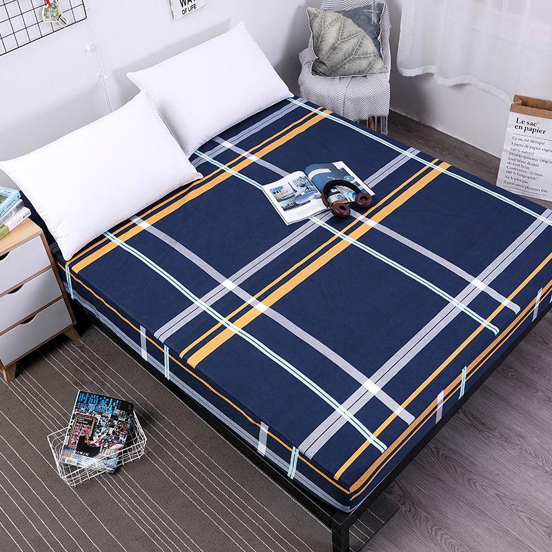 MECEROCK nouveau lit d'impression couverture de matelas imperméable à l'eau matelas protecteur Pad drap housse séparé eau linge de lit avec élastique