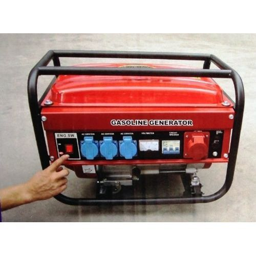 ELECTRIC GENERATOR. GASOLINE. 15 LITRES. 5500W (1000W + 1000W + 1000W + 2500 W). THREE-PHASE AND SINGLE PHASE