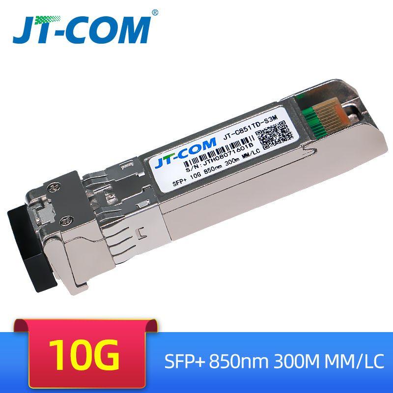 10Gb 300m MM SFP Modul Multimode Duplex SFP + Transceiver LC Optische Stecker SFP-10G-SR Kompatibel mit Cisco Mikrotik schalter