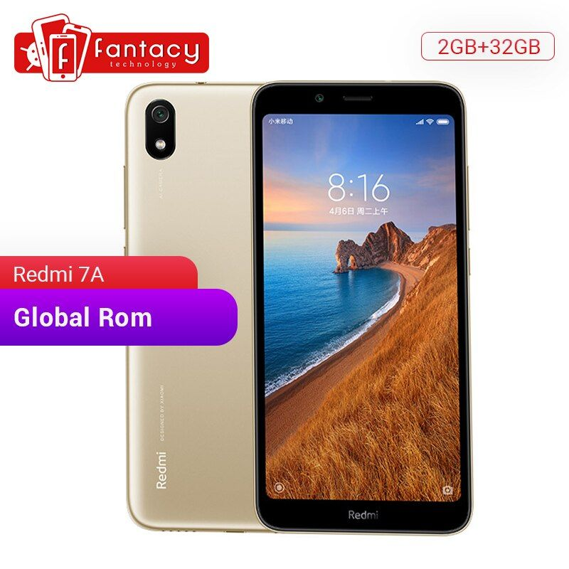 Global ROM Xiaomi Redmi 7A 7 A 2GB 32GB 5.45