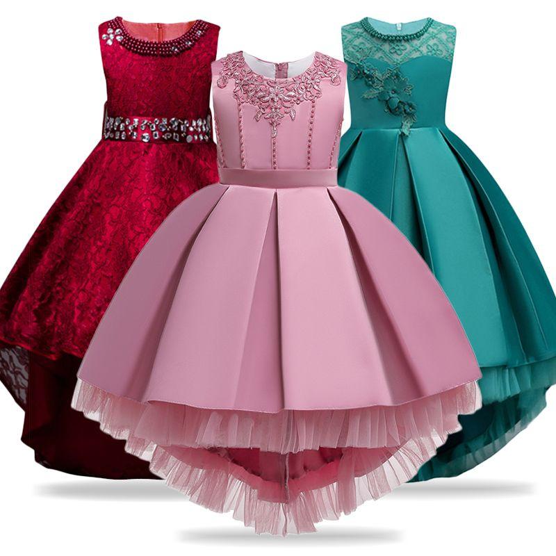 Robes d'été pour enfants pour filles robe de mariée filles élégantes robe de princesse formelle enfants robe de soirée Vestidos 10 12 ans