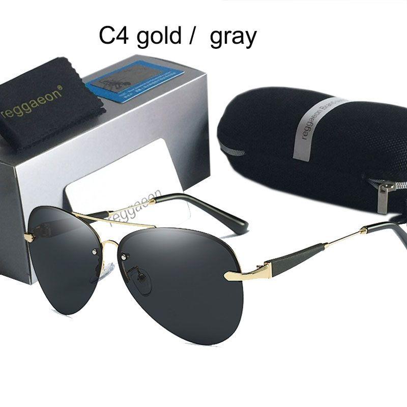 Lunettes De soleil polarisées De marque célèbre De luxe pour les femmes hommes 2019 haute qualité uv400 sans cadre Oculos De Sol