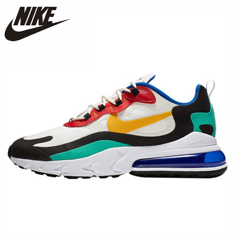 Nike Air Max 270 Turnschuhe Original Neue Ankunft Männer Laufschuhe Atmungsaktiv Bequeme Turnschuhe # AO4971