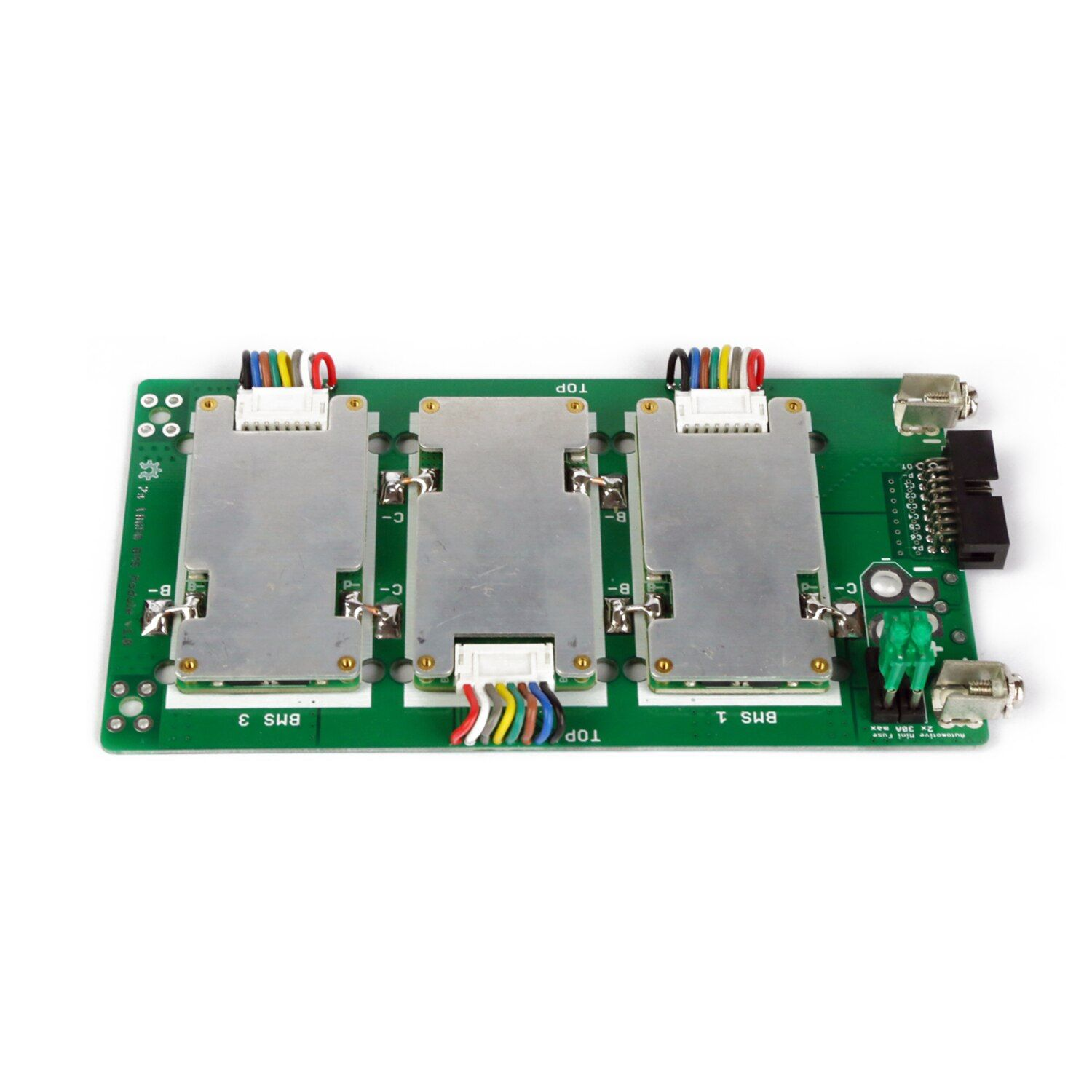 Power Wall 7s battery pack 7S battery holder 7S battery box 29.4V Li-ion Lithium 18650 Battery Pack BMS PCB board  20A 40A 60A