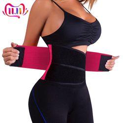 Men And Women Waist Support Belt Adjustable Elastic Lower Back Support Brace Exercise Slimming Belt Waist Trainer Lumbar Braces
