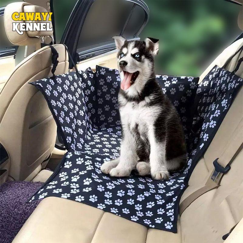 CAWAYI chenil imperméable porte-animaux chien housse de siège de voiture tapis hamac coussin de transport pour chiens Transportin Perro Autostoel Hond