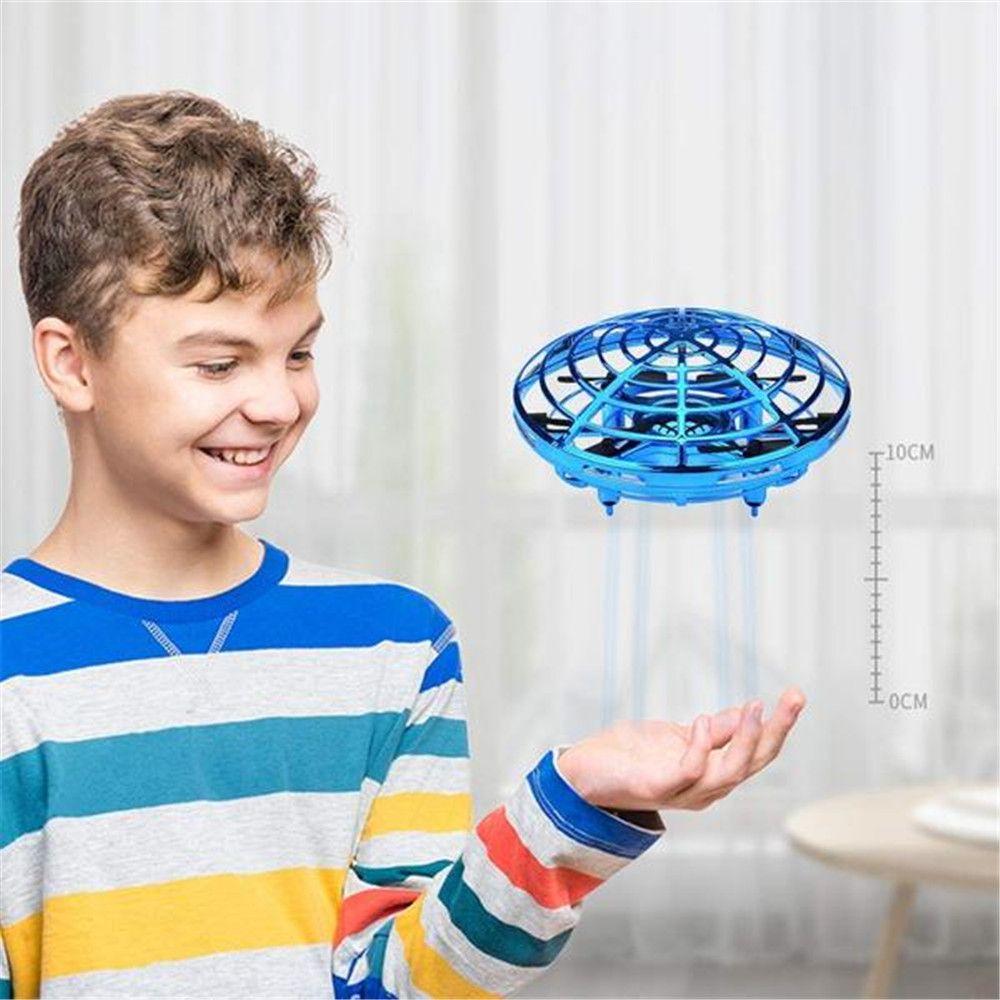Anti-collision vol hélicoptère main magique UFO balle avion détection Mini Induction Drone enfants électrique jouet électronique