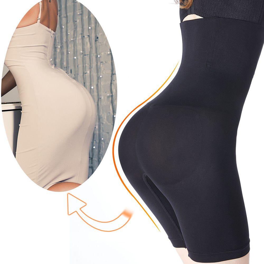 Body shaper femmes taille haute shapewear plus sous-vêtements amincissants ceinture modélisation sangle taille formateur ventre contrôle sexy bout à bout