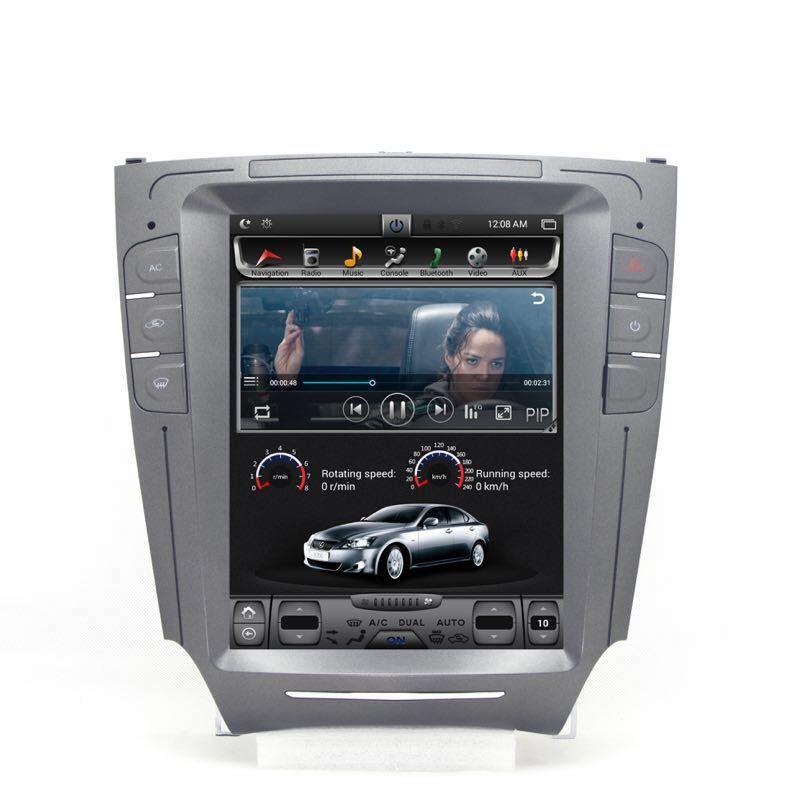 Chogath auto multimedia player android 7.0 2 + 32G vertikale bildschirm auto gps navigation 10,4 zoll für Lexus IS250 2006 -2012