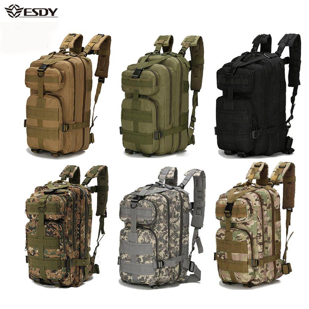 Sacs à dos militaires en plein air 1000D Nylon 30L sac à dos tactique étanche Sports Camping randonnée Trekking pêche sacs de chasse