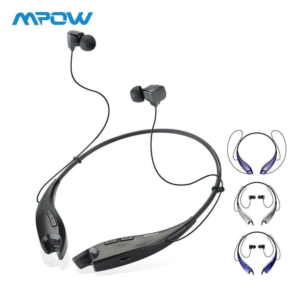 Mpow mâchoires sans fil écouteurs Bluetooth casque cou licou Style écouteurs mains libres appel pour iPhone Xiaomi Huawei Smartphone